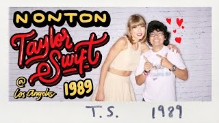 NONTON TAYLOR SWIFT 1989 CONCERT DI LOS ANGELES! (Dedicated to Swifties Indonesia) - Vlog #15