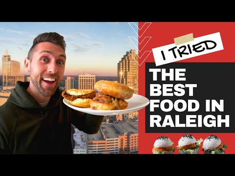 THE BEST FOOD IN RALEIGH, NORTH CAROLINA (Ep. 2)
