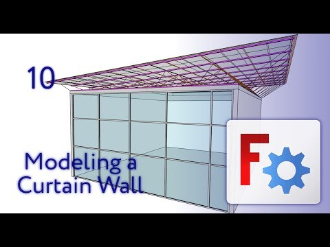 Freecad Arch - Curtain Wall Modeling - 10