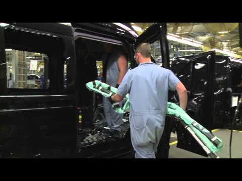 2015 Ford Transit with five-row side curtain airbag