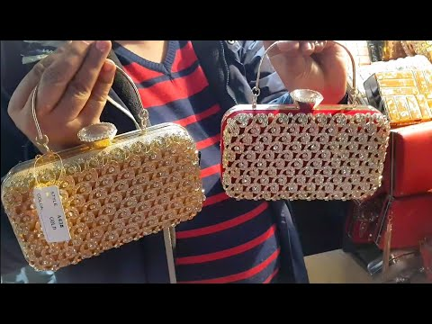 Cheapest Ladies Purse, Clutches & Bags - Delhi, Sadar Bazaar