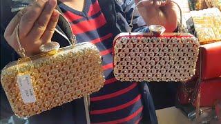 Cheapest Ladies Purse, Clutches & Bags - Delhi, Sadar Bazaar