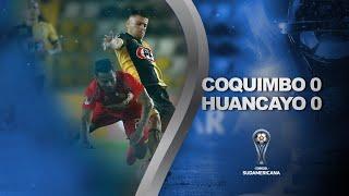 Coquimbo Unido vs. Sport Huancayo [0-0] | RESUMEN | Octavos de Final | CONMEBOL Sudamericana