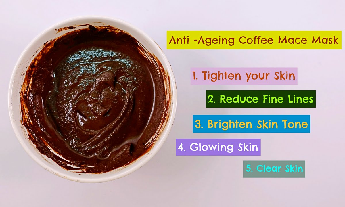 Coffee Face Mask Anti Ageing Home Remedies Youtube
