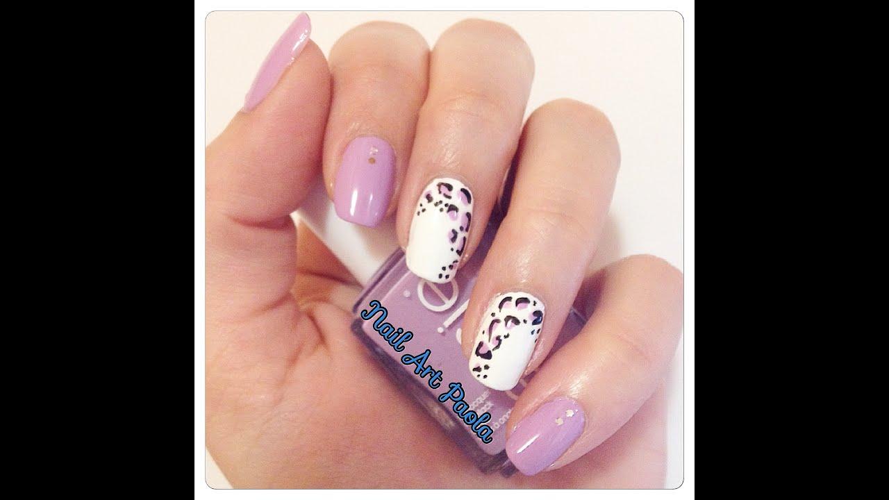 Nail Art Animalier 1 Youtube