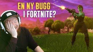 I FIND A NEW BUG IN FORTNITE?!?! (SLIDING FORWARD & SHOOTS TWICE)-FORTNITE IN ENGLISH