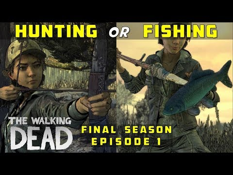 Hunt with Louis & Aasim OR Fish with Violet & Brody | The Walking Dead: Final Season, Episode 1