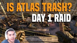 FIRST DAY AND WE ALREADY RAIDING! | ATLAS OR ARK 2? EP 1