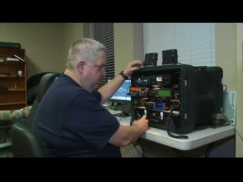 Radio operators prep for Irma