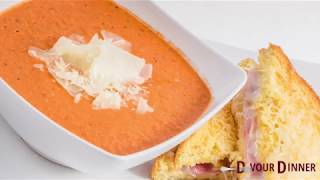 Tomato Basil Soup Copycat Recipe fm Cafe Zupas ~ Devour Dinner   Food and Recipe Blogger