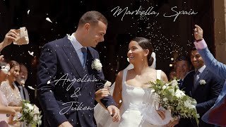 Angelina & Julien. Spectacular German wedding video in Marbella on the Costa del Sol