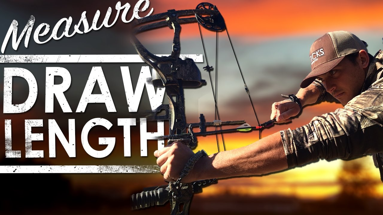 How to Measure Draw Length on a Compound Bow | The Sticks ...
