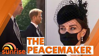 THE PEACEMAKER | How Kate brought Prince William and Prince Harry together | Sunrise
