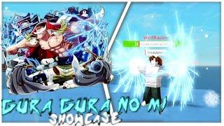 Roblox One Piece: Open Seas   GURA GURA NO MI SHOWCASE/REVIEW