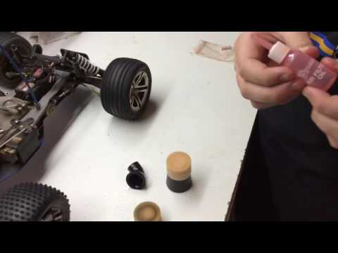 How To Clean Air Filter On Nitro RC Car!!