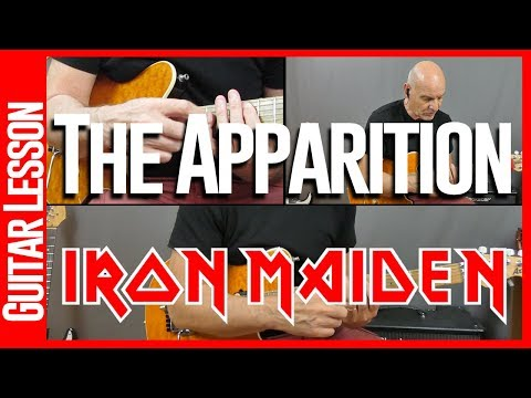 The Apparition By Iron Maiden - Guitar Lesson