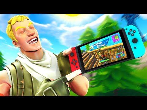 Nintendo Switch God DESTROYS PC Lobby on Fortnite