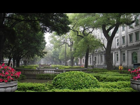 Shamian Island, Guangzhou and the Guangdong Victory Hotel