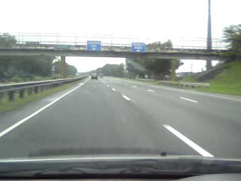160 km/hr on North Luzon Expressway