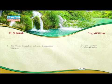 94 Alam Nasyrah Misyari Rasyid Al Affasi