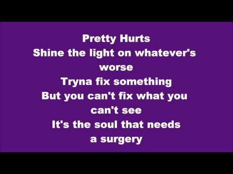 Beyonce - Pretty Hurts Lyrics