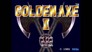 Golden Axe II Genesis Complete Soundtracks