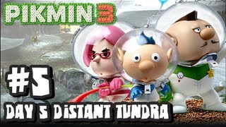 Pikmin 3 (2048p) - Part 5 - Day 5 The Distant Tundra