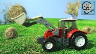 Мультик про машинки. Трактор Тота, Хаммер и полицейские машинки. МанкиМульт