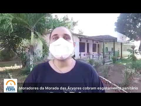 Moradores do Morada das Árvores cobram esgotamento sanitário