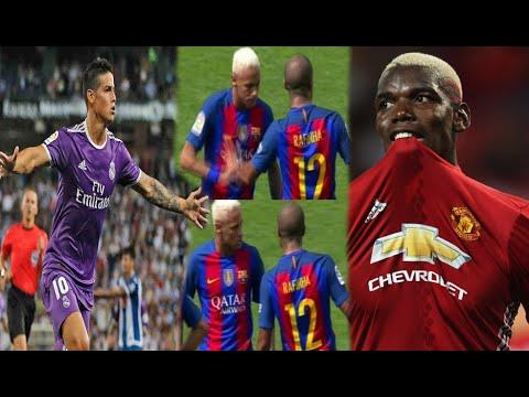 "DESPERTÓ JAMES; ""Hay buena relación con Zidane"" | NEYMAR encara a Rafinha | ""POGBA no es MESSI"""