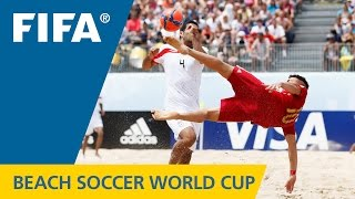 HIGHLIGHTS: Spain v. Iran - FIFA Beach Soccer World Cup 2015
