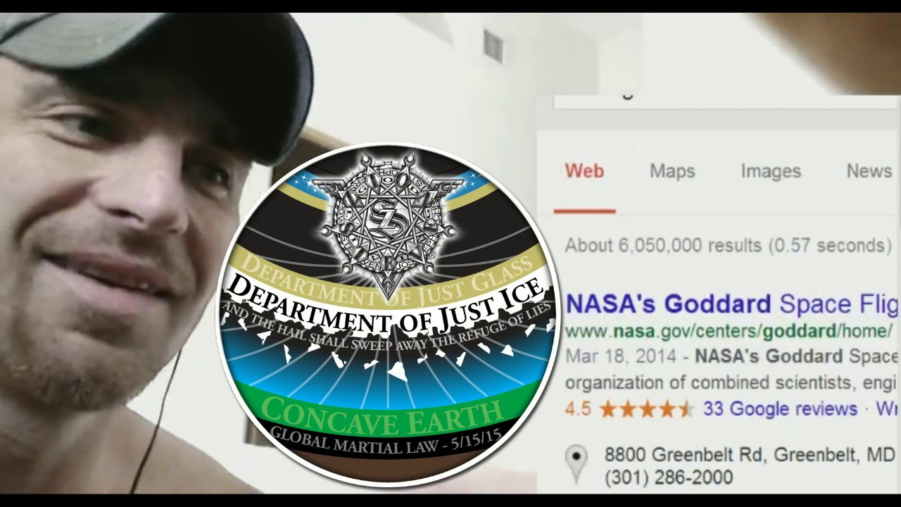 NASA Goddard Phone Call - Lord Steven Christ's Concave Earth