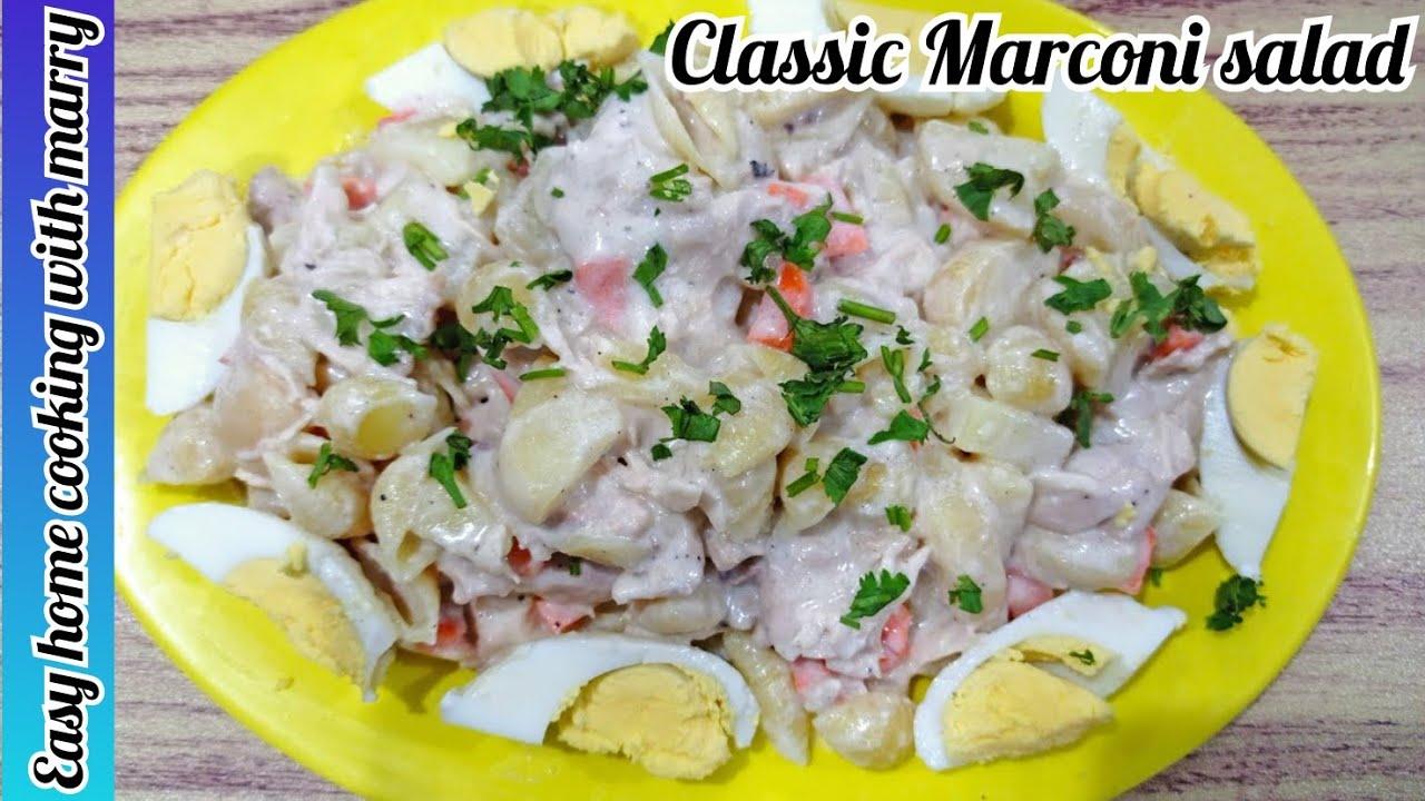 Classic Chicken Macaroni Salad Recipe