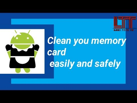 Clean your SD card easily and safely in Hindi | system cleaning tool | memory cleaner