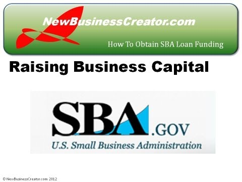 How to Get a SBA Small Business Loan to Fund Your New Business