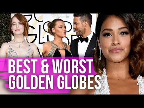 Best & Worst Dressed Golden Globes 2017