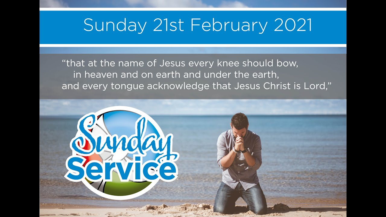 Sunday 21st February Service