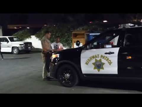 "HIGHWAY PATROL: Whittier Ca,  (  ""GET YOUR HAND OUT YOUR POCKET"" ) traffic stop"