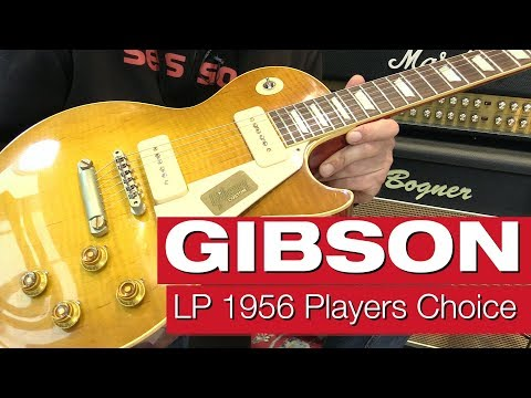 Gibson Les Paul 1956 Players Choice E-Gitarren-Review von session