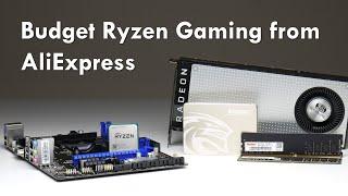 Budget AMD Ryzen Gaming PC from AliExpress