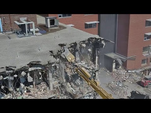 St Catharines General Hospital Demolition - March 29 - April 4