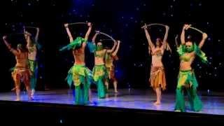 """Шоу группа """"Амарен"""" Танец с мечами (танец живота).mpg"""
