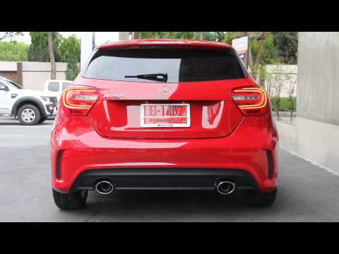 Armytrix Exhaust + Mercedes Benz A250 CGI by Redline Auto