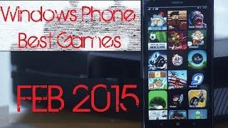 Windows Phone Best Games (FEB 2015)