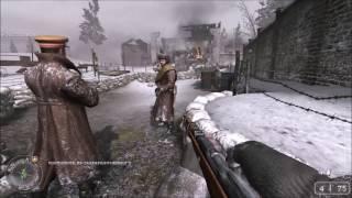 Игра Call of Duty 2 геймплей, видео обучающая миссия