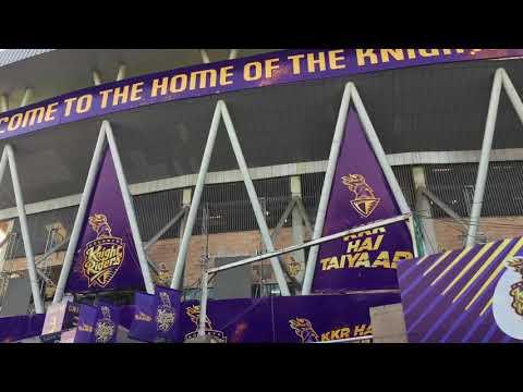 Eden Garden Stadium🔥 Kolkata IPL 2018 Match 13 KKR vs DD| Inside Stadium Experience | #Vlog 3