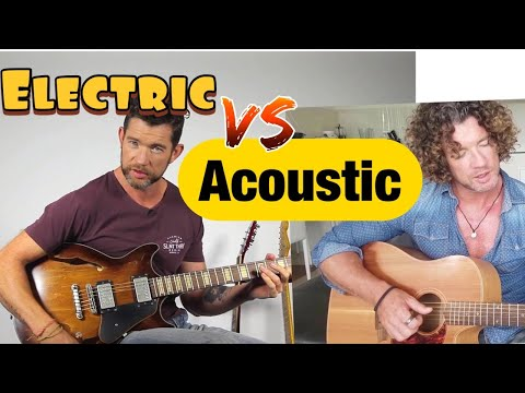 What are the Differences Between Acoustic and Electric Guitar?