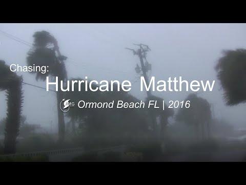Hurricane Matthew violent winds - Ormond Beach FL
