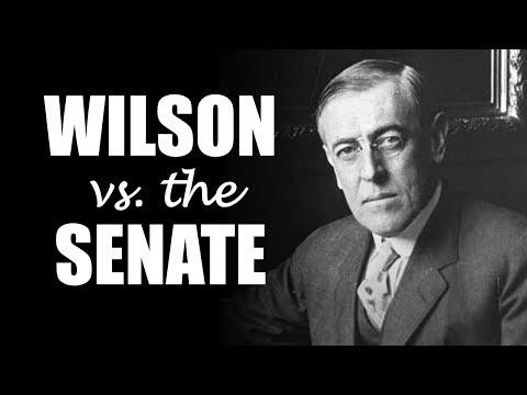 The Versailles Treaty:  Wilson vs. the Senate