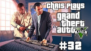 Chris Plays - Grand Theft Auto V Part 32: Et Helt Normalt